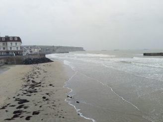 Normandy landing beach